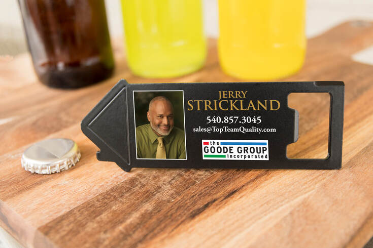 Personalized Box & Bottle Opener from Magnets USA